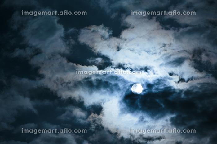 沖縄県波照間島2018年3月1日の満月の販売画像