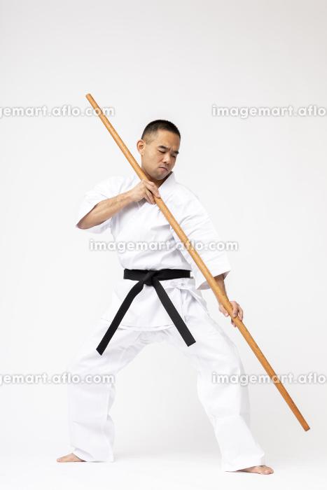少林寺空手 棒術の販売画像