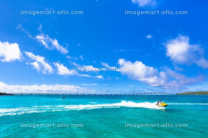 沖縄県宮古島、前浜の風景の販売画像