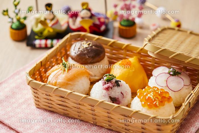 ひな祭りのお弁当 春の行事 和食の販売画像