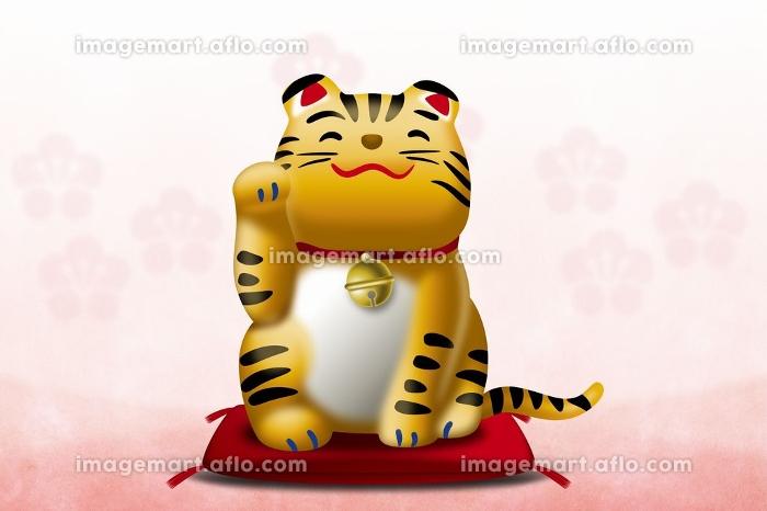 干支 寅 招き猫の販売画像