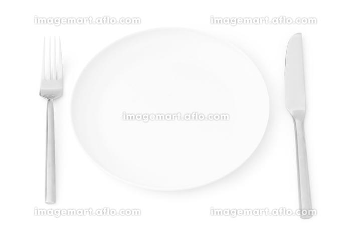 Set of utensils arranged on the tableの販売画像