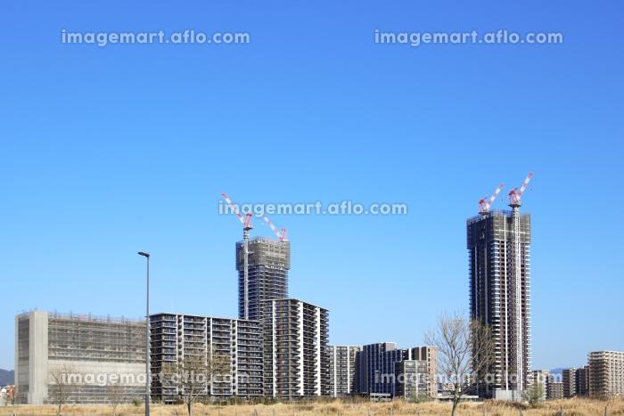 開発の進む福岡県福岡市のアイランドシティ 2021年3月の販売画像