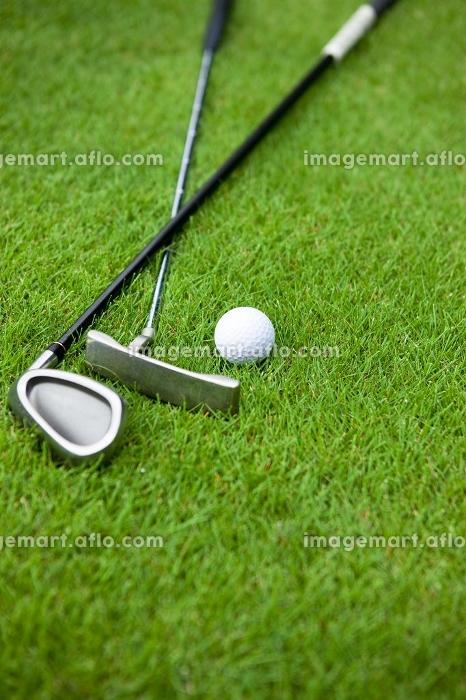ゴルフクラブとボールの販売画像