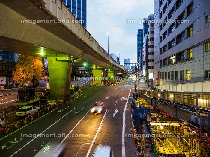 渋谷 再開発 夜景 2017年12月の販売画像