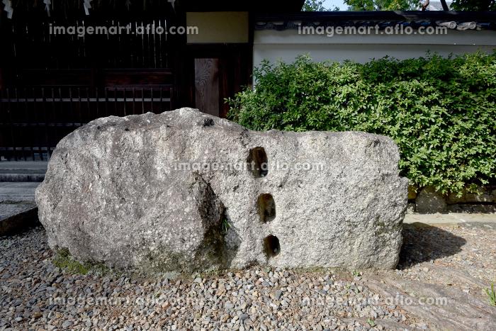 御香宮神社 伏見城跡残石御香宮神社 京都市の販売画像