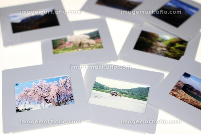 観光地や名所のポジフィルム スライドマウントの販売画像