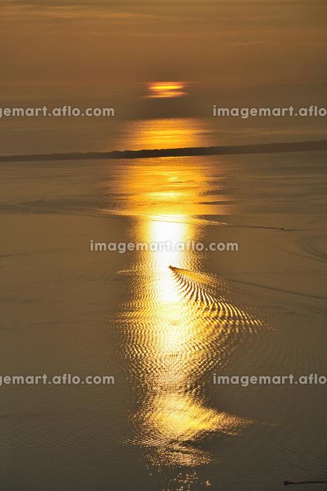 サロマ湖の朝の販売画像