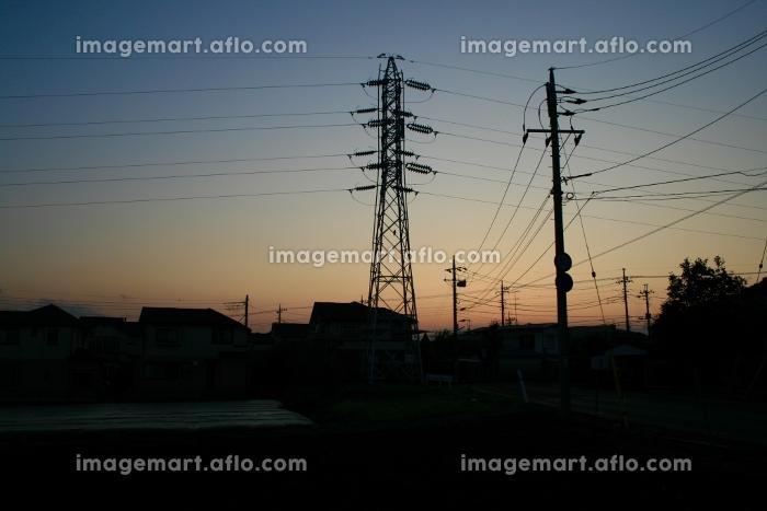 夕景,鉄塔の販売画像