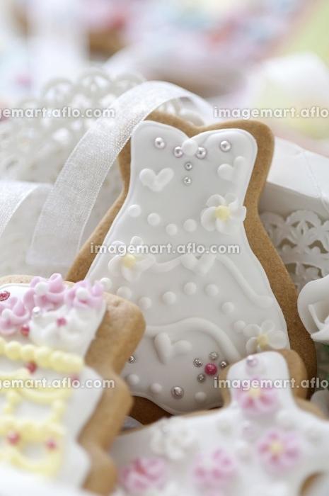 ウェディングケーキのクッキーの販売画像