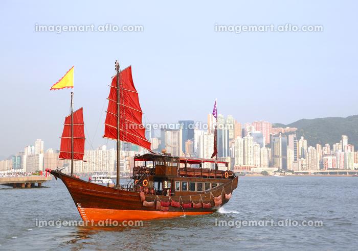 香港 街 ボートの販売画像
