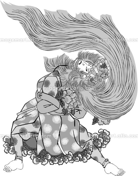 浮世絵 歌舞伎役者 その74の販売画像