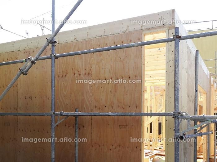 木造住宅の新築工事の販売画像