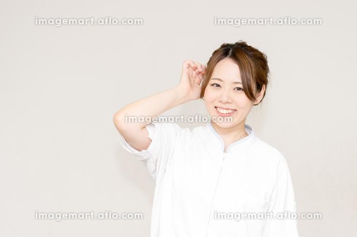 医療イメージ(女性・日本人・人物)の販売画像