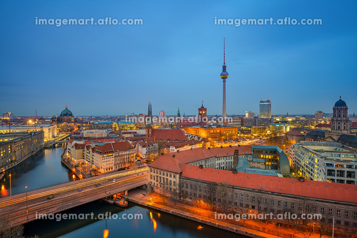Berlin aerial view, Germanyの販売画像