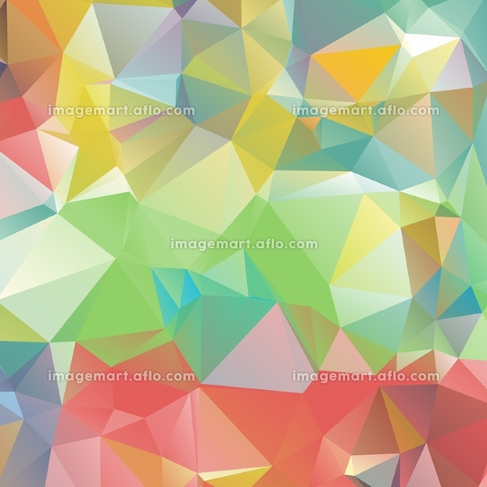 Abstract geometric background. Abstract geometric background. Multicolored triangles background. Beautiful inscription. Triangle background with bright lines. Pattern of crystal geometric shapes