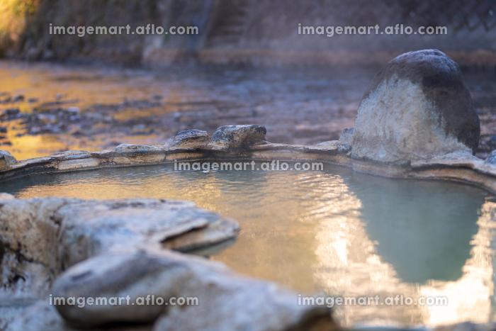 大分県長湯温泉の有名な露天風呂ガニ温泉の販売画像