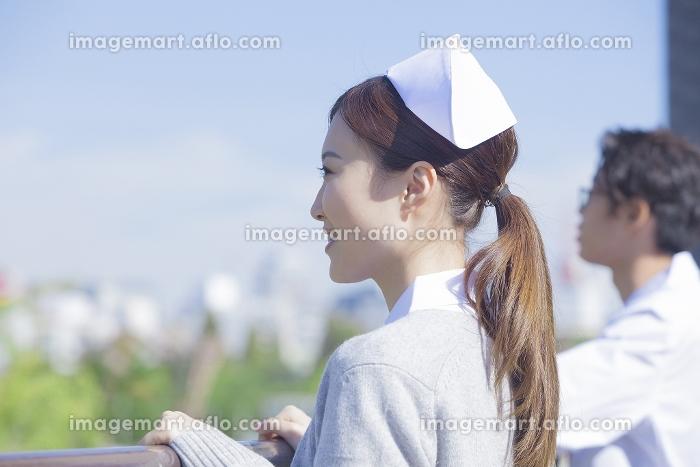 看護師のポートレイト
