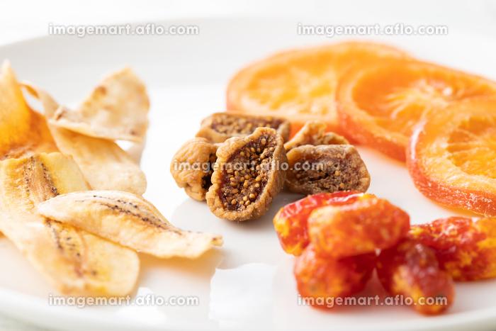 ドライフルーツの盛り合わせのイメージ写真の販売画像