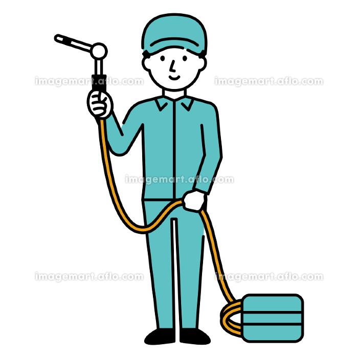 エアコンの清掃員の販売画像