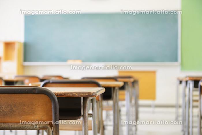 無人の教室の販売画像