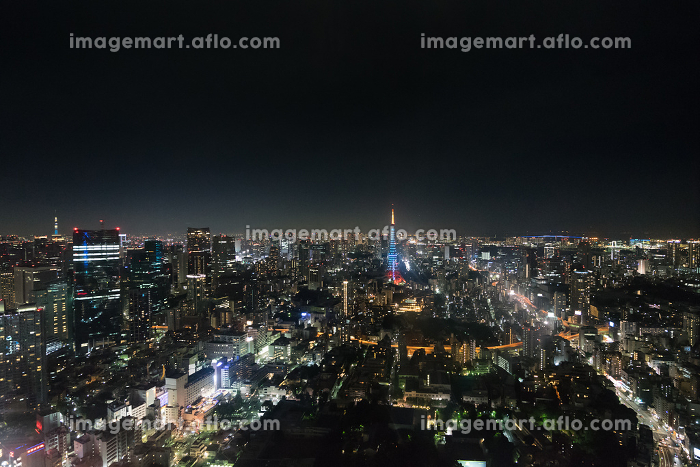東京タワー(ライトアップ・限定色・夜景)の販売画像