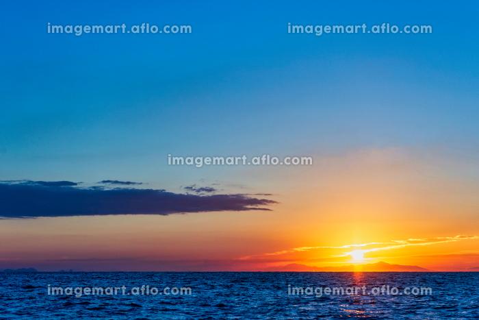 玄界灘の日の出の販売画像