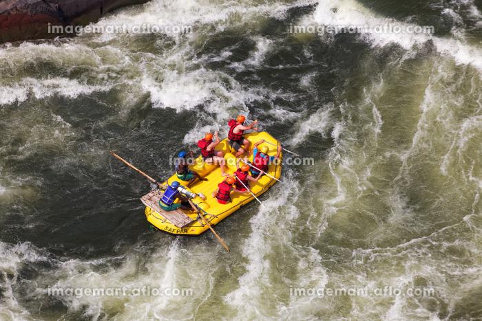 whitewater rafting on the zambeziの販売画像