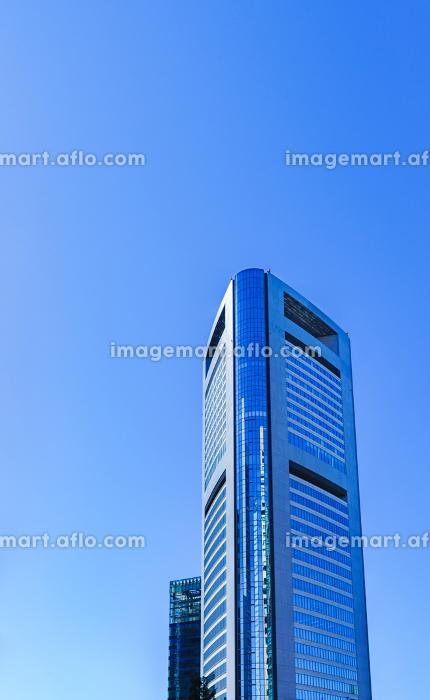 共同通信社 本社ビルの外観 【東京都の都市風景】の販売画像