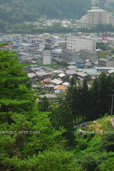 Japan;Gifu Prefecture;Gero;hot spring;jomon bridgeの販売画像