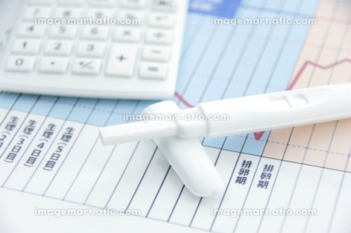 妊娠のセルフチェックイメージの販売画像