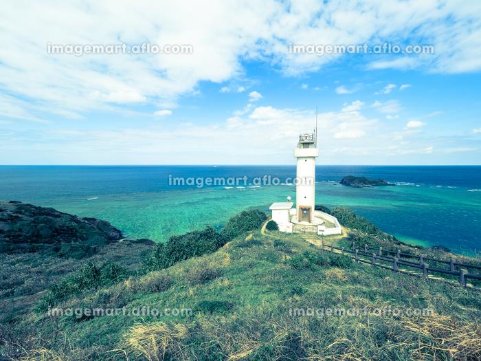 沖縄、石垣島の平久保崎の風景の販売画像