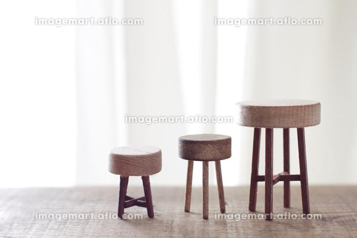 DIYで作ったミニチュアの家具のイメージの販売画像