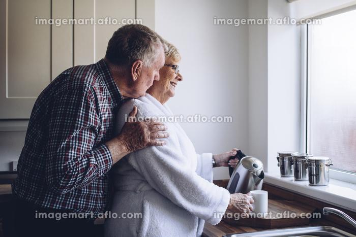 Senior Couple at Homeの販売画像