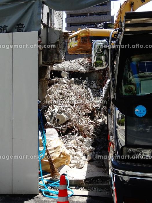 ビル解体工事現場の販売画像