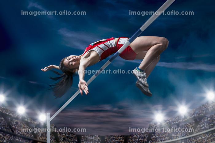 陸上競技 走高跳の販売画像