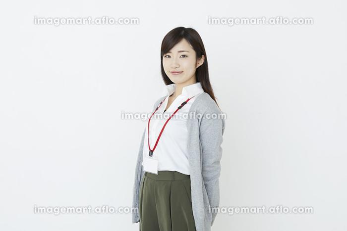 笑顔の日本人ビジネスウーマンの販売画像
