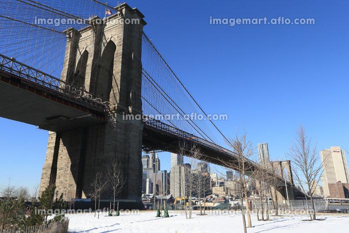 ブルックリンブリッジ ニューヨーク アメリカ合衆国の販売画像