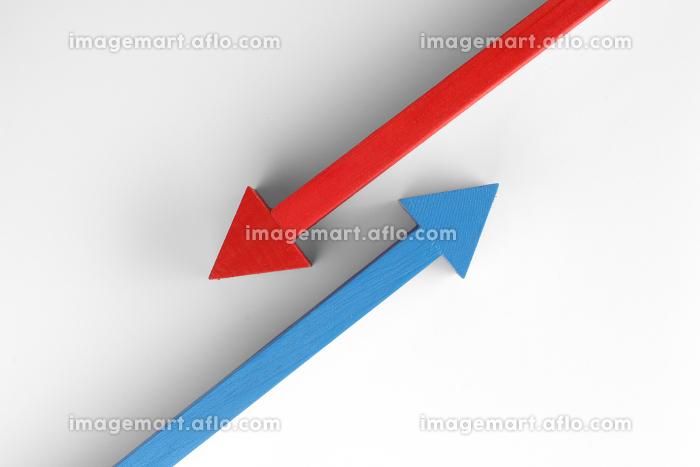 色のついた矢印の販売画像