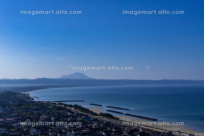 国引き神話の風景薗の長浜 島根県出雲市の販売画像