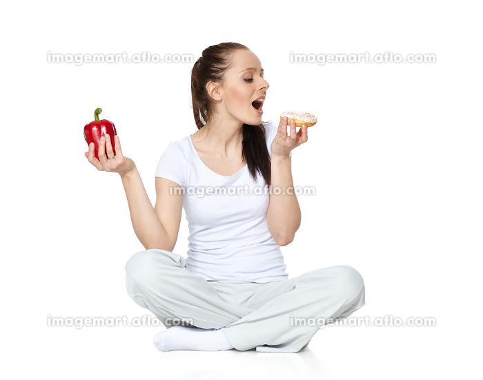 Concept of healthy food. .の販売画像