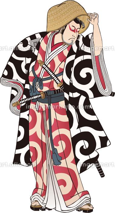 浮世絵 歌舞伎役者 その36の販売画像
