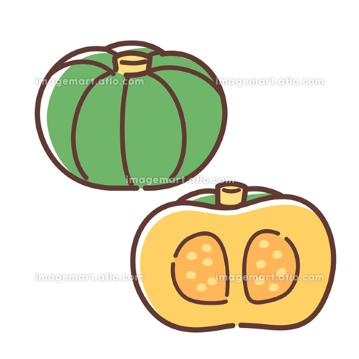 かぼちゃの販売画像