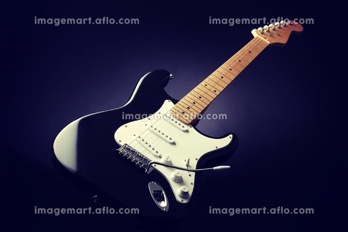 エレキギター単体写真の販売画像