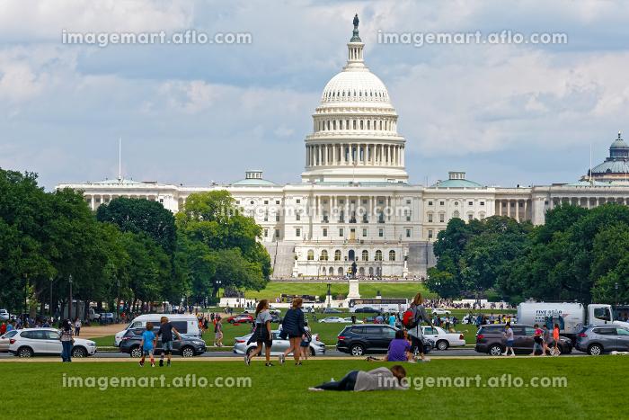 ワシントンDC アメリカ合衆国議会議事堂 アメリカの販売画像
