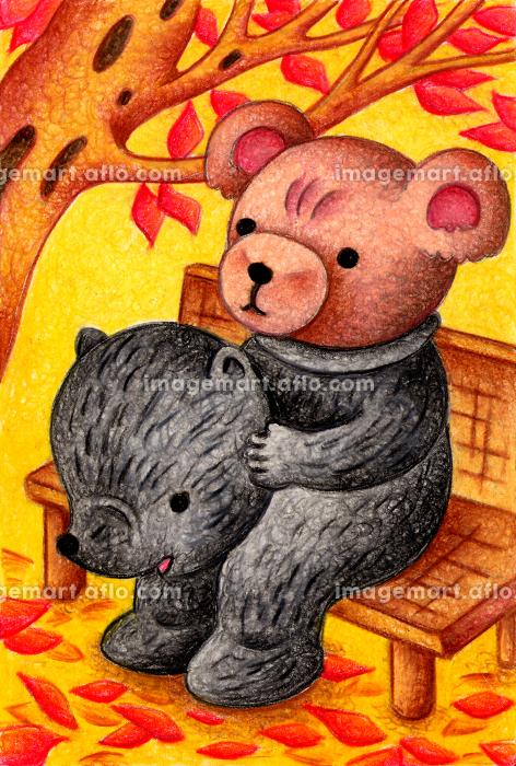 熊の着ぐるみを着るテディベアの販売画像