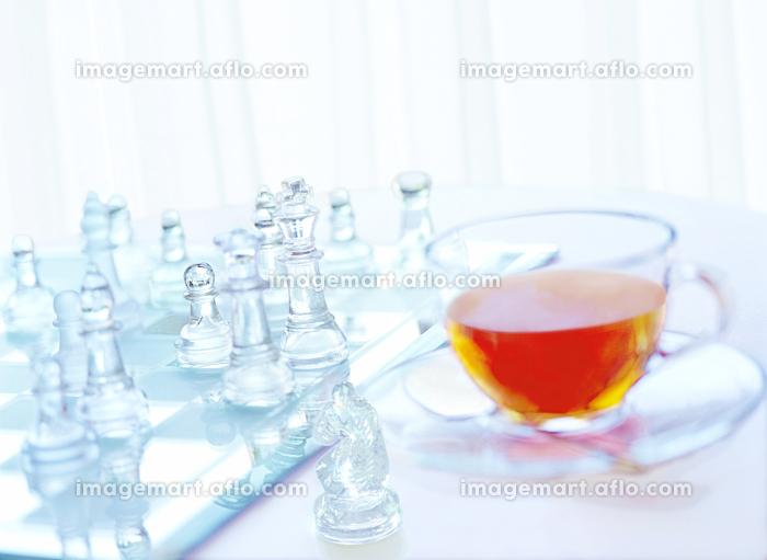 チェスとティーカップの販売画像