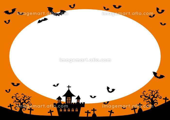 ハロウィン フレーム 背景 04の販売画像
