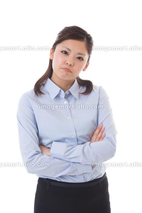 若い女性 怒るの販売画像