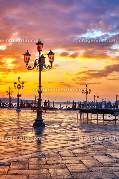 Sunrise in Veniceの販売画像